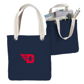 Allie Navy Canvas Tote-Flying D