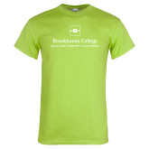 Lime Green T Shirt-Primary Mark