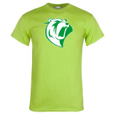 Lime Green T Shirt-Athletic Mark