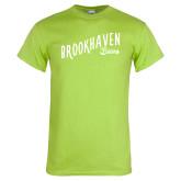 Lime Green T Shirt-Fancy Script