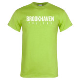 Lime Green T Shirt-Brookhaven College