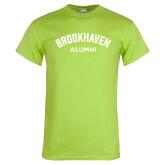 Lime Green T Shirt-Alumni