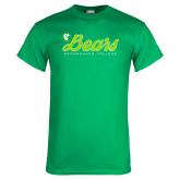 Kelly Green T Shirt-Script Bears