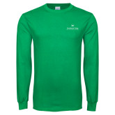 Kelly Green Long Sleeve T Shirt-Primary Mark