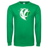 Kelly Green Long Sleeve T Shirt-Athletic Mark