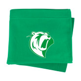 Kelly Green Sweatshirt Blanket-Athletic Mark
