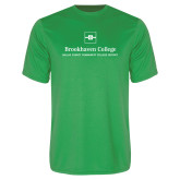 Performance Kelly Green Tee-Primary Mark