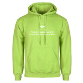 Lime Green Fleece Hoodie-Primary Mark