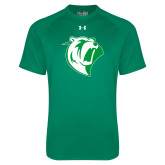 Under Armour Kelly Green Tech Tee-Athletic Mark