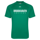 Under Armour Kelly Green Tech Tee-Brookhaven College