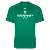 Under Armour Kelly Green Tech Tee-Basketball Stacked