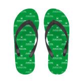 Ladies Full Color Flip Flops-Primary Mark