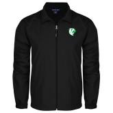 Full Zip Black Wind Jacket-Athletic Mark