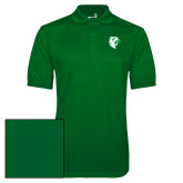 Kelly Green Dry Mesh Polo-Athletic Mark