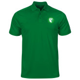 Under Armour Kelly Green Performance Polo-Bear in Circle