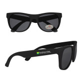 Black Sunglasses-Primary Mark - Horizontal