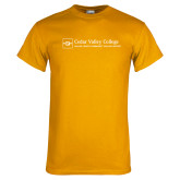 Gold T Shirt-Primary Mark - Horizontal