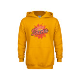 Youth Gold Fleece Hoodie-Full Color Athletics Mark