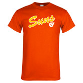 Orange T Shirt-Suns Script