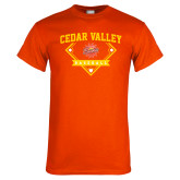 Orange T Shirt-Baseball Plate