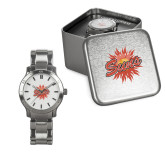 Ladies Stainless Steel Fashion Watch-Full Color Athletics Mark