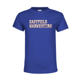 Youth Royal T Shirt-Eastfield Harvesters