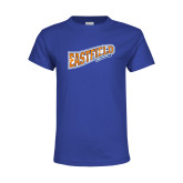 Youth Royal T Shirt-Eastfield Wave