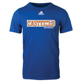 Adidas Royal Logo T Shirt-Athletic Wordmark