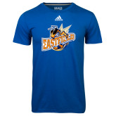 Adidas Climalite Royal Ultimate Performance Tee-Eastfield Wave
