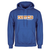 Royal Fleece Hoodie-Athletic Wordmark