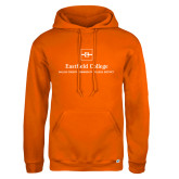 Russell DriPower Orange Fleece Hoodie-Primary Mark