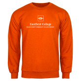 Orange Fleece Crew-Primary Mark