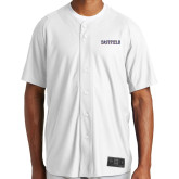 New Era White Diamond Era Jersey-Athletic Wordmark