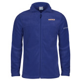 Columbia Full Zip Royal Fleece Jacket-Athletic Wordmark