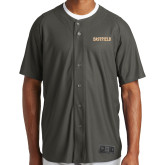 New Era Charcoal Diamond Era Jersey-Athletic Wordmark