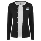 Ladies Black Cardigan-El Centro College Est. 1966