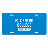 License Plate-El Centro College Est. 1966