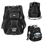 High Sierra Swerve Black Compu Backpack-El Centro College Est. 1966