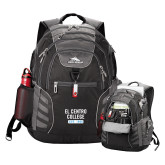 High Sierra Big Wig Black Compu Backpack-El Centro College Est. 1966