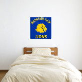 2 ft x 2 ft Fan WallSkinz-Mountain View Lions
