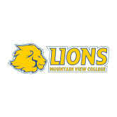 Medium Decal-Lions w/ Lion Head, 8 inches wide