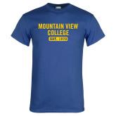 Royal T Shirt-Mountain View College Est 1970
