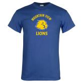 Royal T Shirt-Mountain View Lions