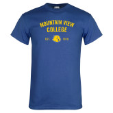Royal T Shirt-Mountain View Lions Arched