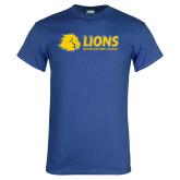 Royal T Shirt-Lions w/ Lion Head