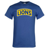 Royal T Shirt-Mountain View College Lions in Box