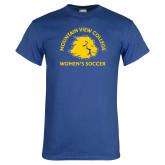 Royal T Shirt-Womens Soccer