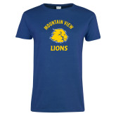 Ladies Royal T Shirt-Mountain View Lions