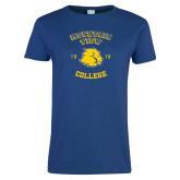 Ladies Royal T Shirt-Mountain View Lions Est 1970