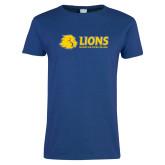 Ladies Royal T Shirt-Lions w/ Lion Head